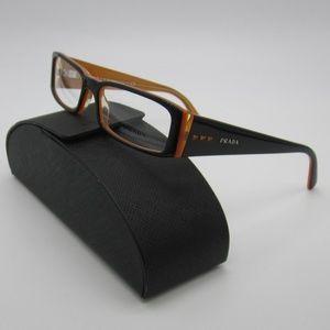 Prada VPR 10F 2BX-101 Eyeglasses /Italy /ELL423